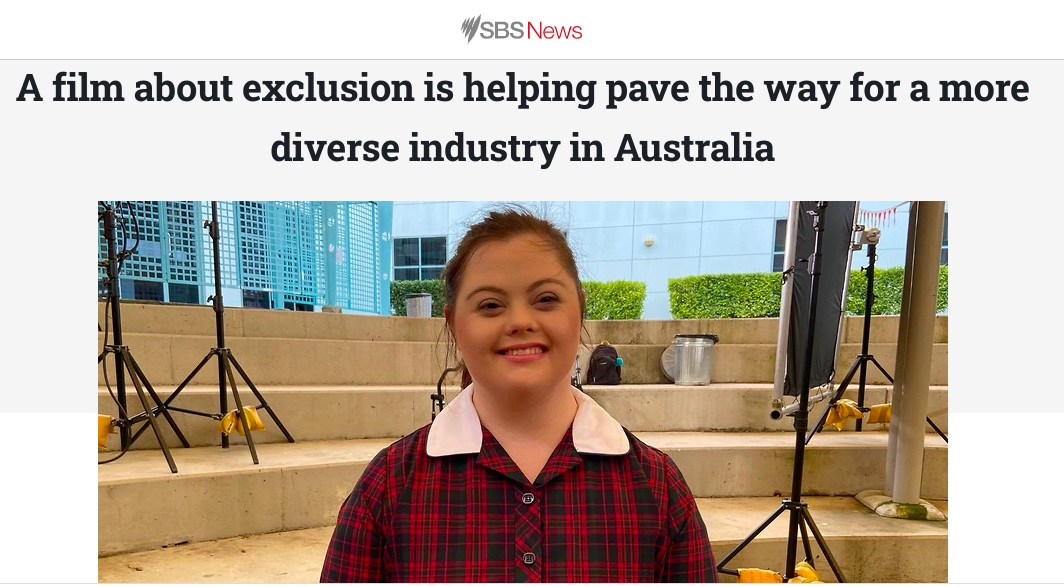 A film about exclusion is helping pave the way for a more diverse industry in Australia